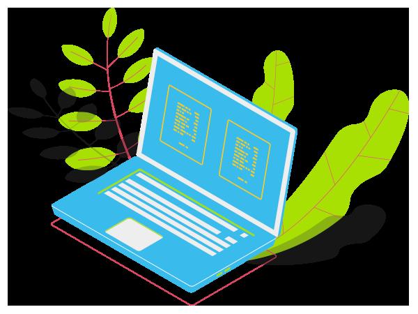 Ilustração Criação de sites